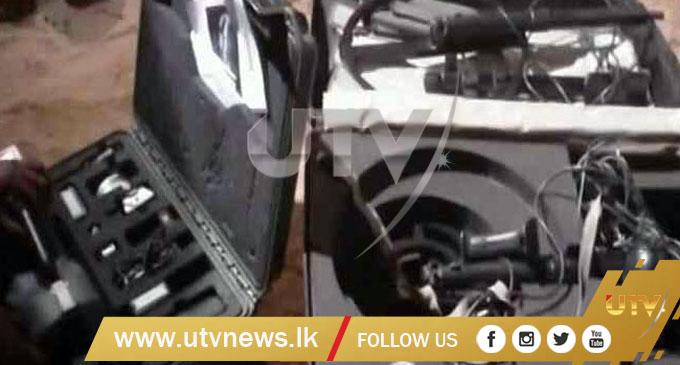 Suspected LTTE Guns, Explosives and Ammunition found in Rameswaram