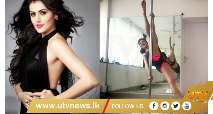 Taapsee wants to learn pole dancing from Jacqueline – [IMAGES]